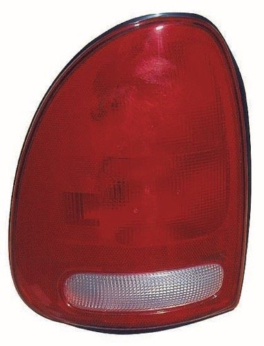 Go-Parts » OE Replacement for 1996-2000 Dodge Grand Caravan Rear Tail Light Lamp Assembly/Lens/Cover - Left (Driver) Side 4576245 CH2800125 for Dodge Grand Caravan