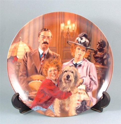 Knowles c1986 Bradford Exchange Annie collector plate Annie Lily and Rooster ()