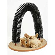 Pet Parade Playtime Cat Arch - Helps prevent hairballs and controls shedding