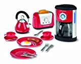 toy kitchen coffee maker - Casdon Morphy Richards Kitchen Set Toy - Kettle, Toaster and Coffee Machine