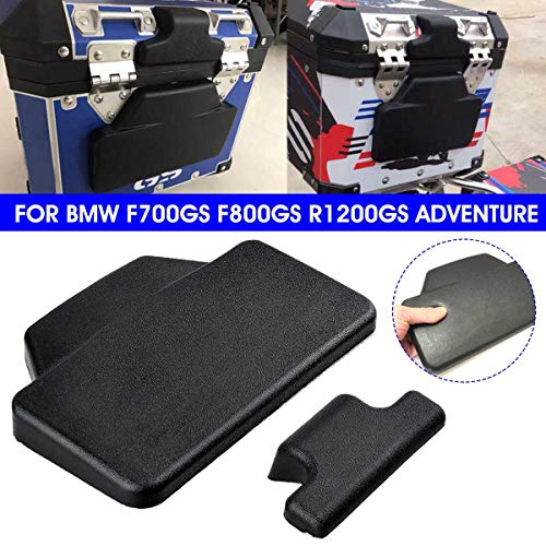 Value-5-Star - Motorcycle Passenger Seat Backrest Back Pad Rear Saddlebag Trunk Cushion For BMW F 700 800 GS ADV/R 1200 GS Adventure ()