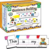 Carson Dellosa - Sentence Building Literacy Resource with 86 Cards for Language Arts For K, 1st, & 2ND Grade & Ell: more info