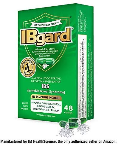 IBgard® for The Dietary Management of Irritable Bowel Syndrome (IBS) Symptoms Including, Abdominal Pain, Bloating…