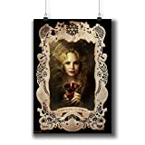 The Vampire Diaries TV Series Poster Small Prints 058-019 Caroline Forbes Candice King,Wall Art Decor for Dorm Bedroom Living Room (A4|8x12inch|21x29cm)