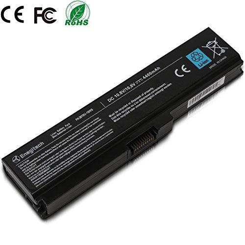 Enegitech Replacement Laptop/Notebook Battery for Toshiba PA3817U-1BRS PA3819U-1BRS PA3816U-1BRS PABAS228 PABAS229 PABAS230, Toshiba Satellite C655 L650 L650D L655 L655D L700 L745 L750 L750D L755 L755D M640 M645 P745 P755 P775 Series.