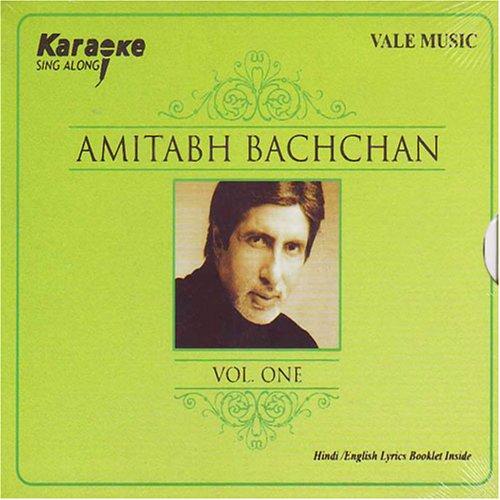 Karaoke Sing Along Amitabh Bachan Vol-1 (Indian Musical/ Hindi Song/ Karaoke) (Hindi Karaoke Cd)