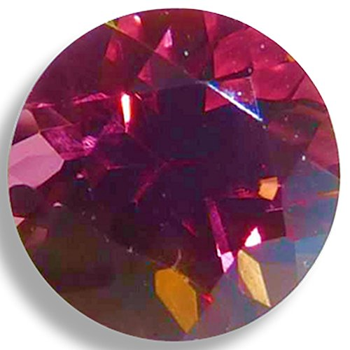 OptimaGem Rhodolite Garnet Round 2mm-9mm Loose Gemstones (5mm)