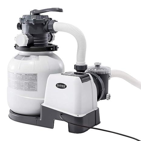 """Intex 26646 - Depuradora de arena 7.900 litros/hora 12"""" ..."""