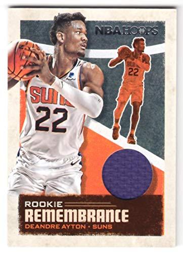 Deandre Ayton 2019-20 Panini Hoops Rookie Remembrance JSY #45 NM-MT MEM Suns Basketball NBA from Hoops