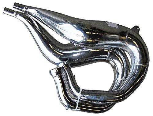 FMF Fatty Pipe Chrome for Yamaha Banshee 350 1987-2006 020145 ()