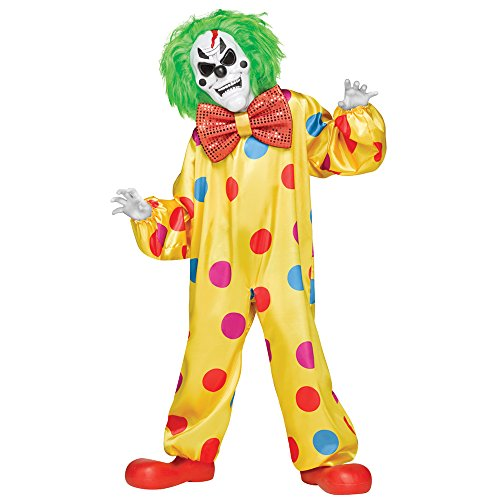 Color-Changing Killer Clown Kids Costume