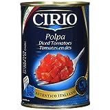 Cirio Polpa, Diced Tomatoes, 398 Milliliters