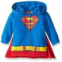 Warner Bros. baby-boys Baby Superman Hoodie With Cape