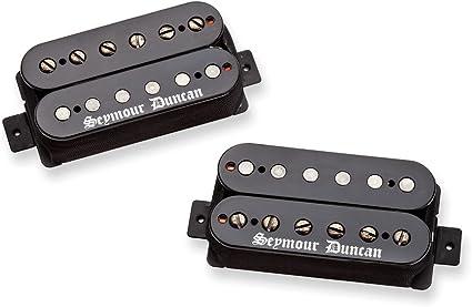 Seymour Duncan Black Winter Bridge Humbucker In Red /& Black Zebra Guitar Pickup