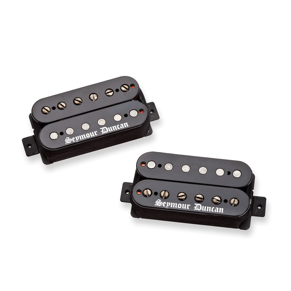 Amazon.com: Seymour Duncan Black Winter Set Humbucker Guitar Pickup ...