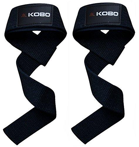 Kobo Power Gym Training / Weight Lifting/Gloves Hooks Wraps