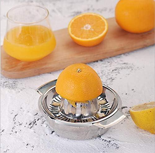 HSWJ Manual Exprimidor, Exprimidor de Acero Inoxidable 304 Presión Exprimidor Naranja Limón No magnético