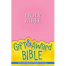 NIrV, Gift and Award Bible, Paperback, Pink