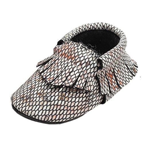 Leap Frog Snake Print Moccasins Boots - Zapatos primeros pasos de Material Sintético para niño E