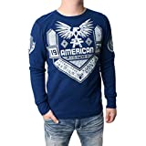 American Fighter Men's Augusta Weathered Thermal Shirt-Large