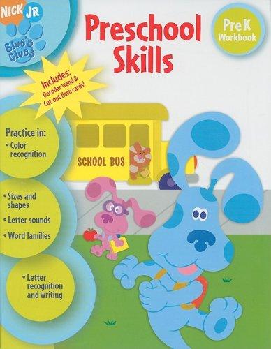 Download Preschool Skills, PreK Workbook (Nick Jr. Blues Clues) pdf epub