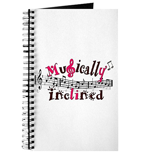 CafePress - Musically Inclined - Spiral Bound Journal Notebook, Personal Diary, Task Journal