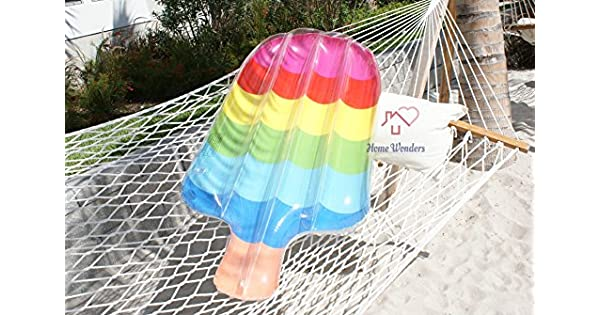 Amazon.com: Home Wonder Popsicle flotador hinchable para ...