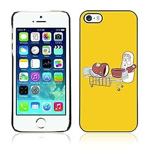 CASETOPIA / Funny Russian Nesting Doll Nurse / Apple Iphone 5 / 5S / Prima Delgada SLIM Casa Carcasa Funda Case Bandera Cover Armor Shell PC / Aliminium