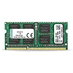 Kingston Technology 8gb 1600mhz Ddr3l Non-ecc Cl11 Sodimm Pc Memory