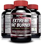 Extreme Thermogenic Fat Burner Weight Loss Pills for Women and Men - Boosts Metabolism & Increases Energy, Effective Appetite Suppressant, Lose Belly Fat, Best Diet Supplement to Lose Weight Fast