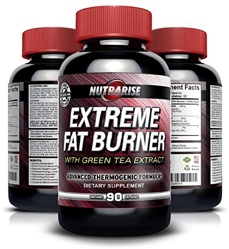 Extreme Thermogenic Fat Burner Weight Loss Diet Pills for Women and Men - Boosts Metabolism & Increases Energy, Effective Appetite Suppressant, Lose Belly Fat, Best Diet Supplement to Lose Weight Fast - Testosterone Fat Loss