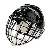 Mylec Sr. Helmet with Wire Face Guard, Black
