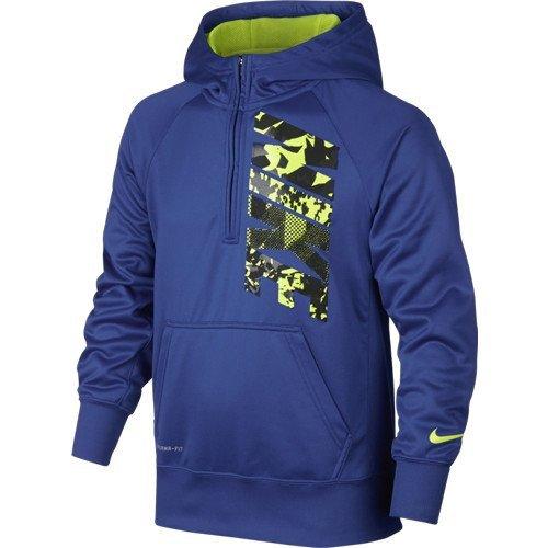Nike Boys Therma Fit Half Zip Training Hoodie (M)