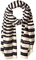 Marc Jacobs Women's Satin Stripe Scarf