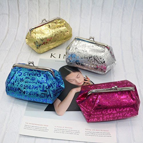 Lady Pink TOOPOOT Coin Clearance Coin Bag Hot Reflector Deals Bag Wallet Laser Women Purse RXR1q6