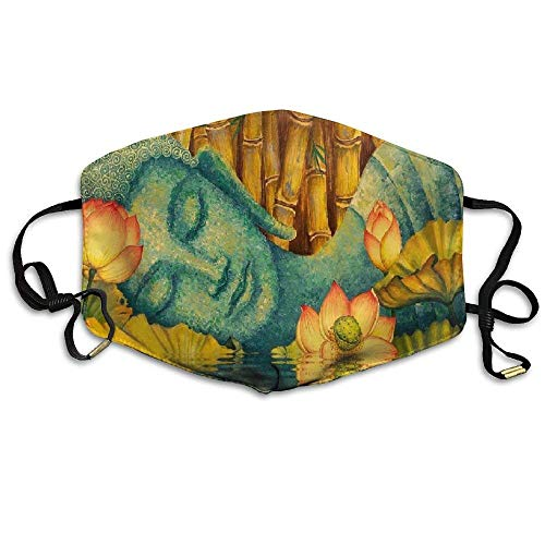 Best Nirvana of The Buddha Printed Mouth Masks Unisex Anti-dust Masks Reusable Face Mask -