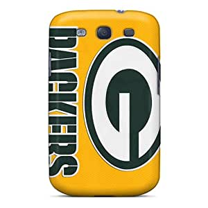 Sanp On Case Cover Protector For Galaxy S3 (green Bay Packers)
