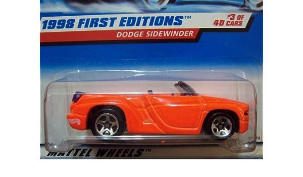 1998 Hot Wheels First Edition Dodge Sidewinder #634