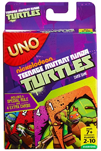 Teenage Mutant Ninja Turtles UNO Card Game]()