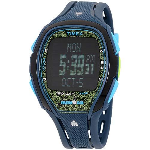 Timex Ironman Sleek 150 Grey Dial Resin Strap Men's Watch TW5M08200