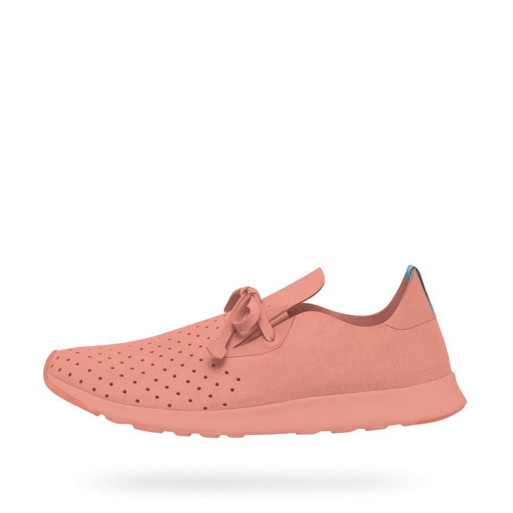 Native Unisex Apollo Moc Fashion Sneaker. B01HQP2HHK 10.5 B(M) US Women / 8.5 D(M) US Men|Clay Pink/Clay Pink/Clay Rubber