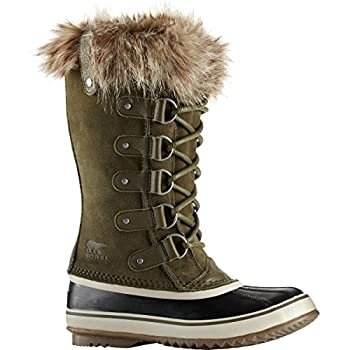 Sorel Women's 12 In. Joan Of Arctic Waterproof Boots, Noridark Stone Green 9 4