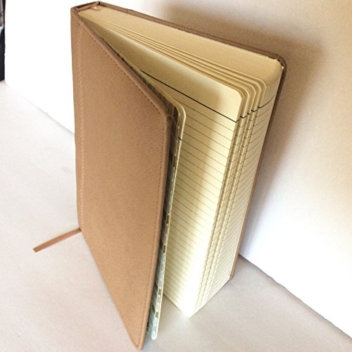 (Markings - Jumbo Light Brown Leatherette Journal - Ruled, 7