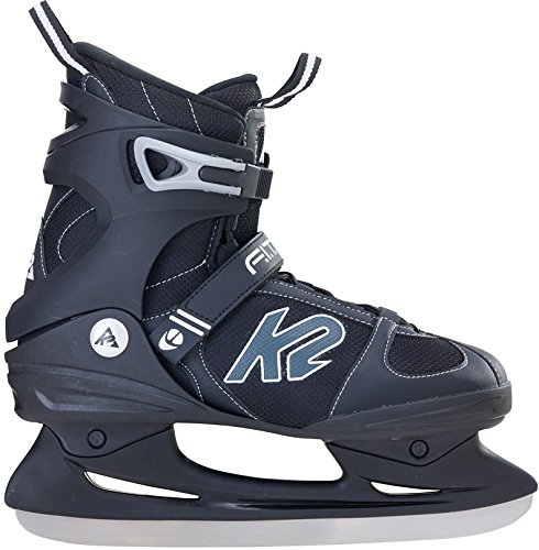 F.I.T. ICE Skate , Black, 12 Black Mens Ice Skates