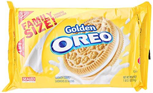 Nabisco Family Size Golden Oreo, 19.10 oz