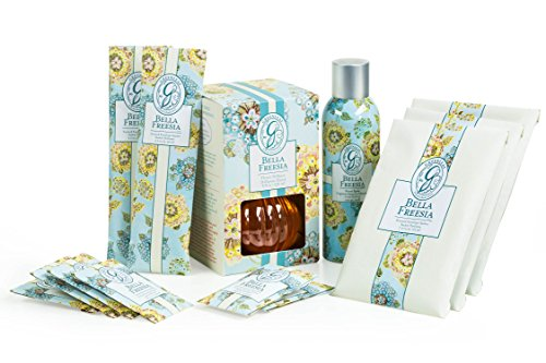 Bella Freesia Extra-Long Lasting Home Air Freshener Kit by G