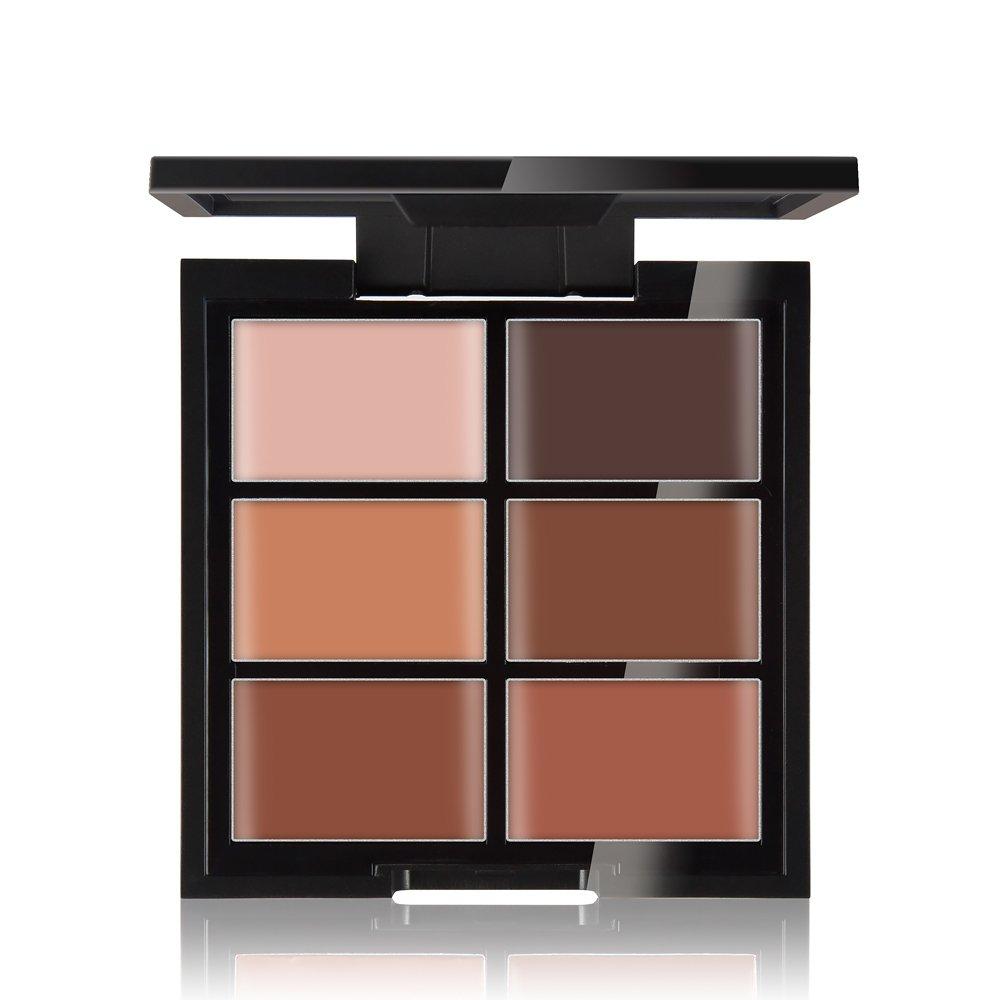 ieasysexy 6 Color Concealer Base Brightening Foundation Makeup Repair Face Cream (Style#3)