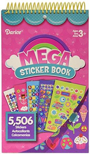 DARICE STRK 12G Mega Decorative Stickers