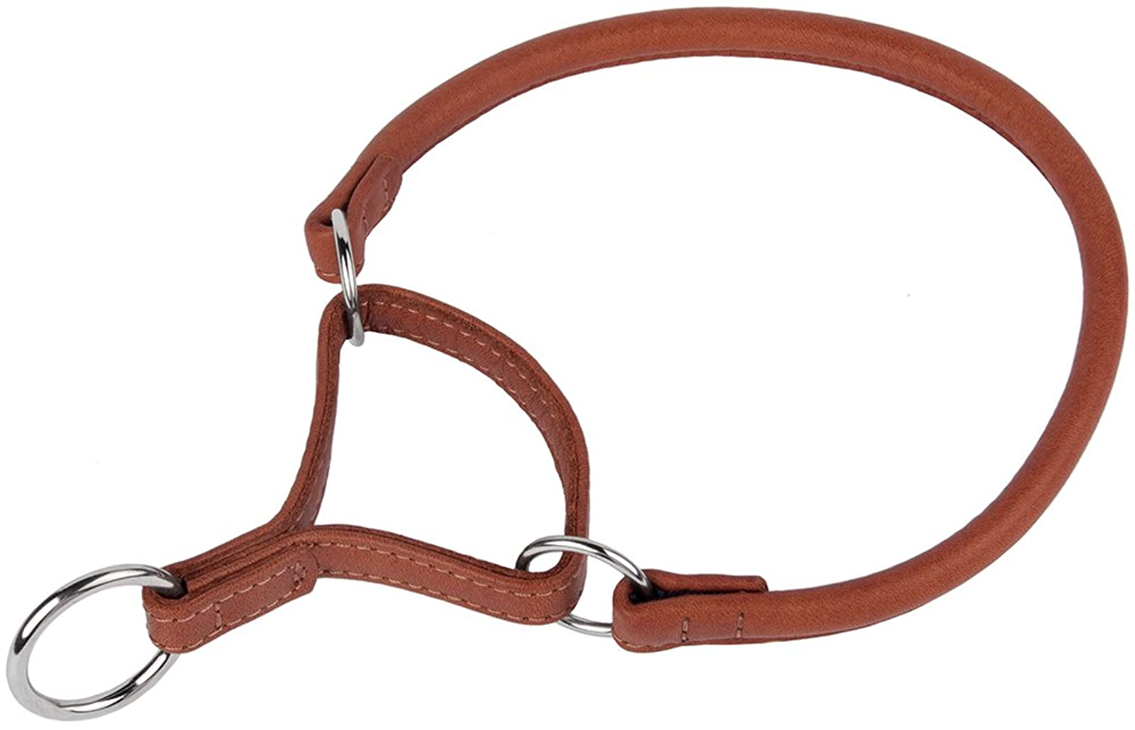 CollarDirect Rolled Martingale Dog Collar Training Genuine - 1