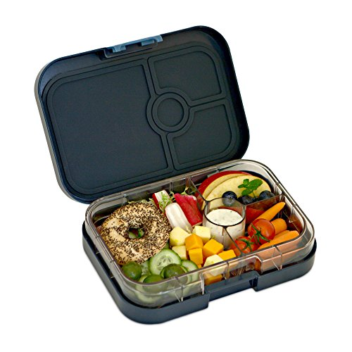 yumbox leakproof bento lunch box container espace blue for kids and adults with glow in the. Black Bedroom Furniture Sets. Home Design Ideas